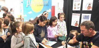 Alejandra y la pulsera del tiempo José Ramón Samada Rica visitó la Biblioteca de Montijo