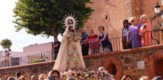La Virgen de Barbaño regresa a su Ermita desde Montijo