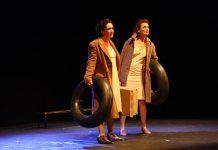 """""""La mar de lejos"""" en el Festival de Teatro de Puebla de la Calzada (foto: Teodoro Gracia)"""