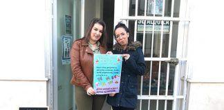 Mercadillo solidario de la asociación Llamando a la Puerta de la Esperanza