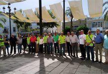 Mesa informativa de pensionistas Montijo