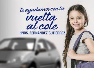 Operación vuelta al cole, descuentos en talleres Hnos. Fernández Gutiérrez