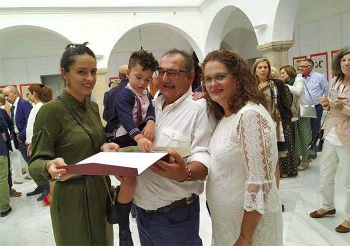 José María Gómez Pérez, donante de sangre de Montijo