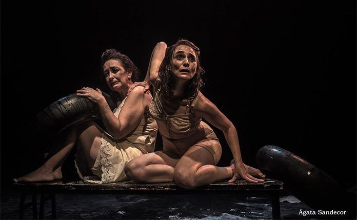 """""""La mar de lejos"""" de Tras el Trapo Teatro (Foto: Ágata Sandecor)"""