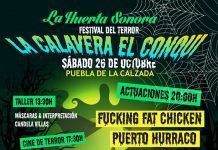 La Huerta Sonora celebra La Calavera el Conqui