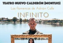 cartel las flamencas de adrian calle infinito gala benefica a favor de aecc montijo