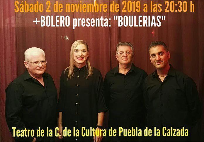 + Boleros presenta Boulerias en Puebla de la Calzada