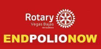 Día de Mundial de la Lucha contra la Polio end poliop now rotary vegas bajas