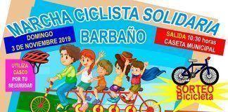 Marcha Ciclista Solidaria en Barbaño.