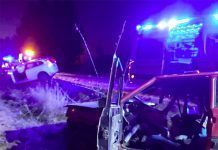 Muere una varón de 41 años en un choque frontal en la Ex-209 entre Montijo y Torremayor