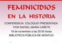 Feminicidios en la historia Charla-Coloquio con Rafael María Cañete