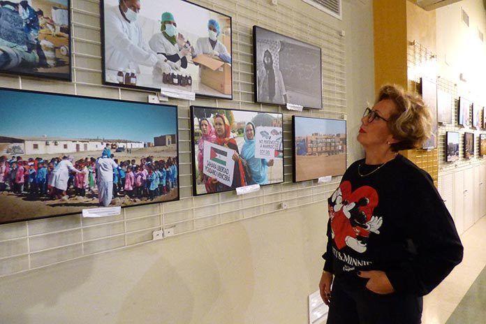 Sáhara, emociones en el exilio y el olvido, exposición de Carolina Yuste en Montijo
