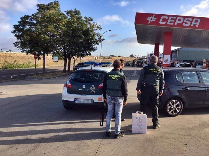La Guardia Civil detiene al atracador de una gasolinera de Gevora
