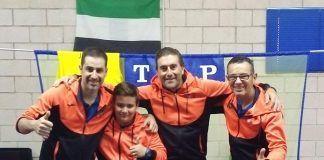 Nuevo éxito del Club Tenis de Mesa Montijo en el Zonal Clasificatorio para el Campeonato de España