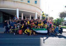 La AD Lobón ya se encuentra en Melilla para la Copa del Rey