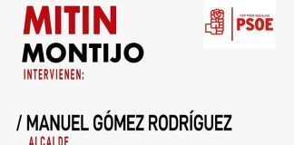 El PSOE celebrará un acto electoral en Montijo