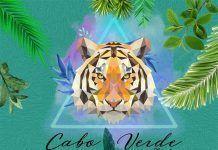 cartel Gran inauguración de la terraza de invierno Cabo Verde en Montijo