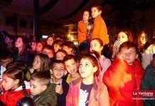 FOTOS y VÍDEOS: Encendido del alumbrado de Navidad en Montijo