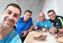 Integrantes del Club Tenis de Mesa Montijo