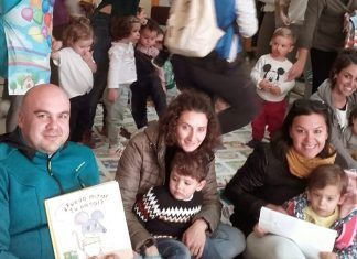 FOTOS: Reinauguración de la Biblioteca de la Escuela Infantil Alborada de Montijo
