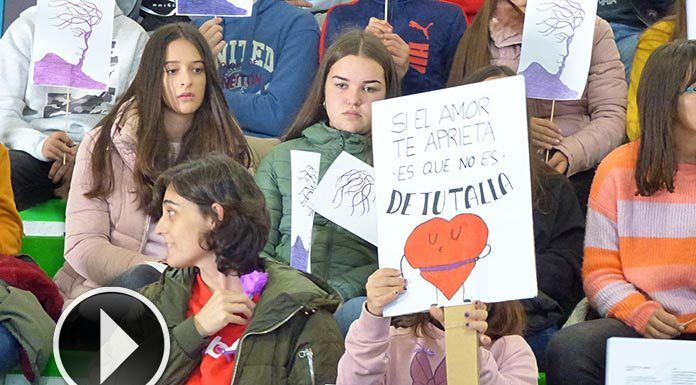 Acto contra la Violencia de Género en Montijo
