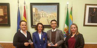 Ana Puerto El Club Rotary Vegas Bajas recibió la visita de su gobernadora