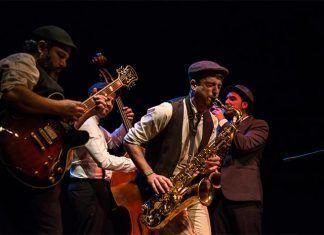 Concierto de Navidad de Swing Ton Ni Song en Montijo