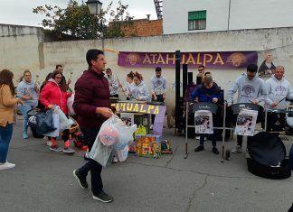 Tsunami solidario en el VII Ensayo Solidario de recogida de juguetes en Talavera la Real
