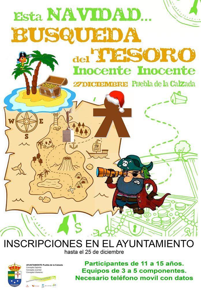 Segunda edición de la búsqueda del tesoro en Puebla de la Calzada