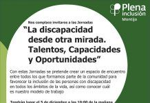 """Plena Inclusión Montijo conmemora el Día de la Discapacidad con el lema """"La discapacidad desde otra mirada. Talentos, capacidades y oportunidades"""""""