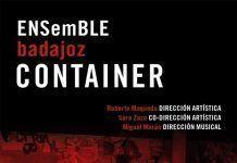cartel Concierto de Ensamble Container en Montijo