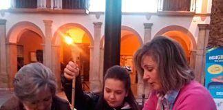 Asociación Bordados y Tradiciones en Montijo Taller de zambombas artesanales en Montijo