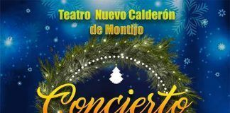 cartel Concierto de Navidad de la Banda de Música de Montijo 2019
