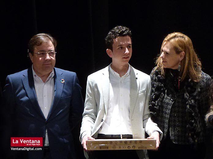 El montijano Alberto Cebrián García recibe el Premio Extraordinario de Educación Secundaria Obligatoria