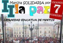 La II Marcha Solidaria por La Paz en Montijo se aplaza al 7 de Febrero