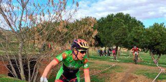 Tamara Sánchez en el Open de Extremadura XCO