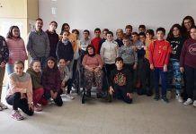 """Finaliza la campaña de sensibilización """"Nada es lo que parece"""" impartida en Montijo por personas con discapacidad intelectual con resultados muy positivos"""