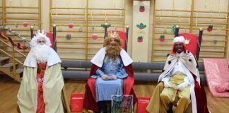 Reyes Magos recogen las cartas en Montijo