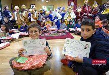 Entrega de premios del concurso de tarjetas navideñas en Montijo