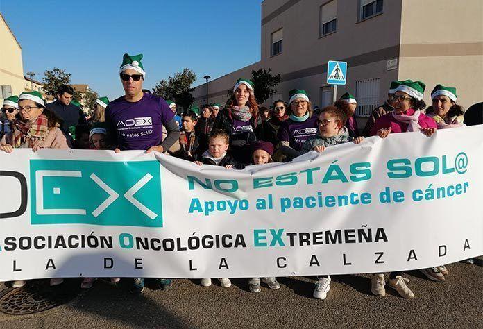 aoex oncología infantil ruta verde puebla de la calzada
