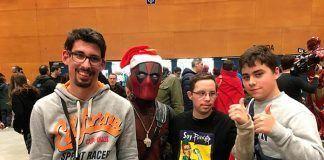 Inclusión Man de Plena Inclusión Montijo en Heroes Cómic Con Madrid