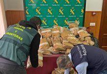 Detenido un vecino de Arroyo de San Serván con 100 kg de picadura de tabaco de contrabando