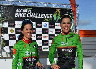 Desi Castro y Tamara Sánchez (Extremadura-Ecopilas) ya son terceras en Algarve Bike Challenge pero quieren más