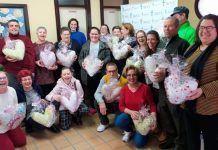 Plena Inclusión Montijo en un nuevo proyecto inclusivo Almohadas Corazón