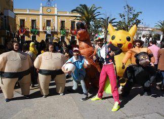 Puebla de la Calzada celebró su Carnaval infantil