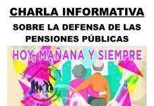 Charla informativa sobre la defensa de las pensiones en Torremayor