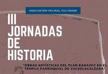 La III Jornada de Historia en Valdelacalzada abordará el arte sacro en las iglesias del Plan Badajoz