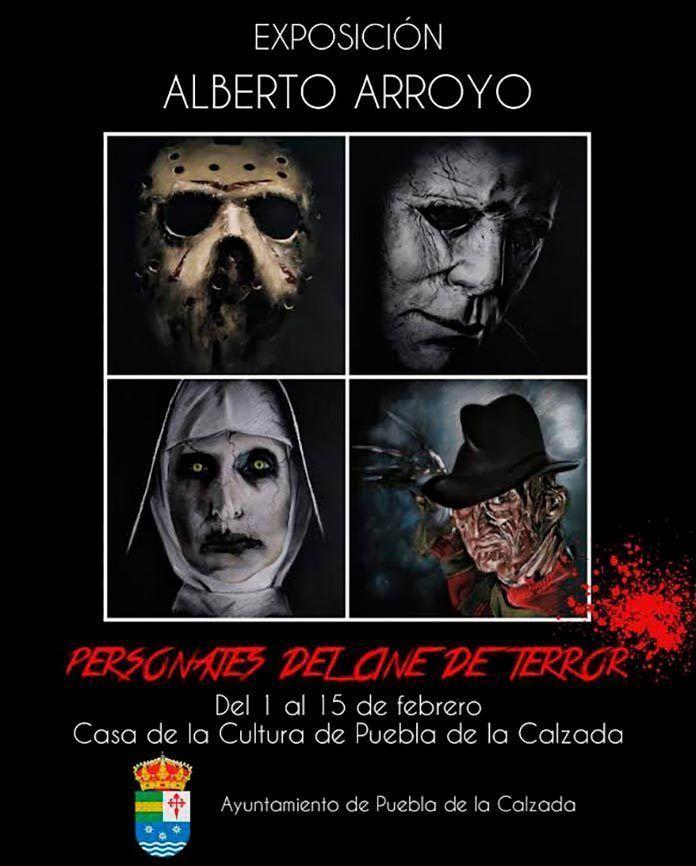Exposición de Alberto Arroyo Personajes del Cine de Terror