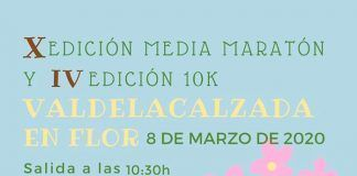 Media Maratón de Valdelacalzada en Flor y 10k