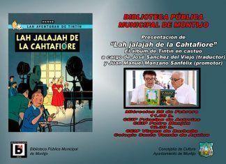 """""""Lah jalajah de la Cahtafiore"""", el cómic de Tintín en castúo llega a Montijo"""